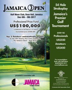Jamaica Open Poster Final